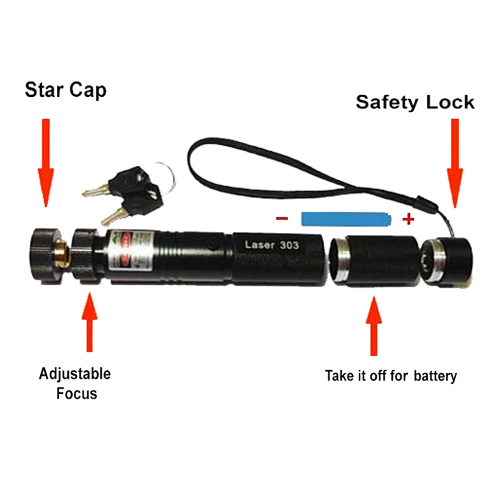 ALI shop ...  ... 32987050278 ... 3 ... 303 Green Laser High Power Laser Pointer 532nm Pointer Pen Adjustable Burning Green Lazer Match With Rechargeable 18650 Battery ...
