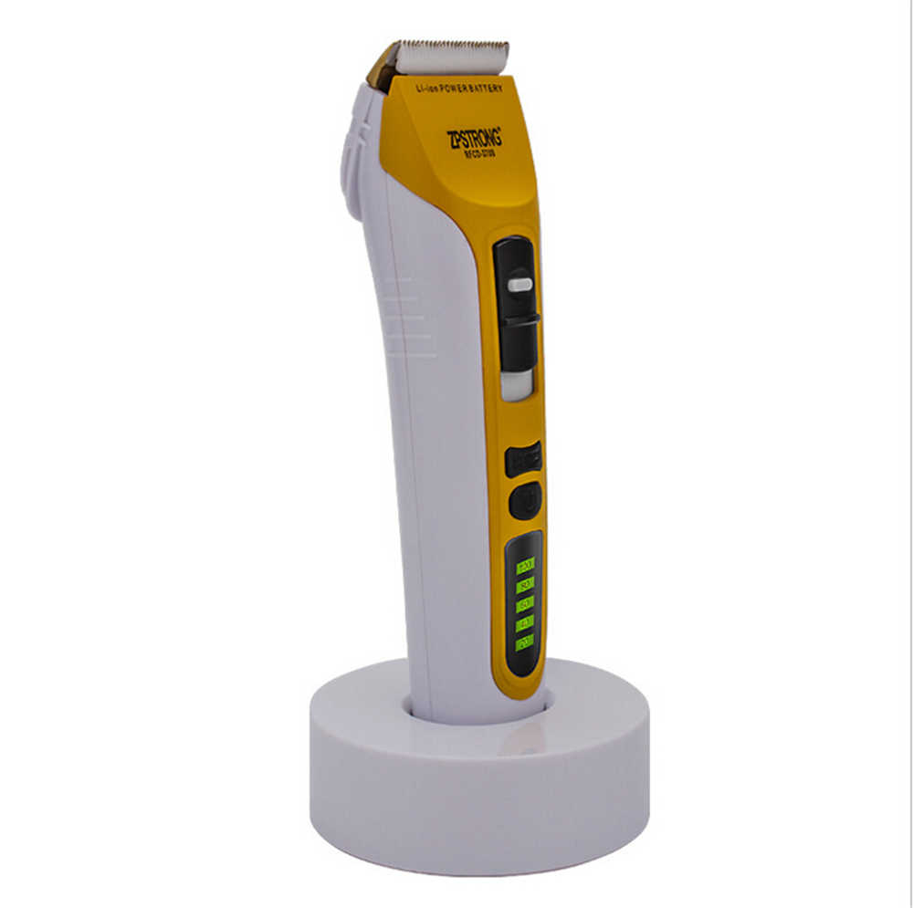 25 Вт профессиональный электрический триммер для волос перезаряжаемая машинка для стрижки волос бритва триммер для бритья бороды для взрослых мужчин светодиодный дисплей 220 В/110 В