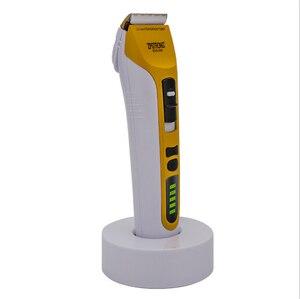Image 2 - Maquinilla eléctrica para cortar el pelo para hombres y adultos máquina de afeitar profesional de 25w, recargable, con pantalla LED de 220V/110V