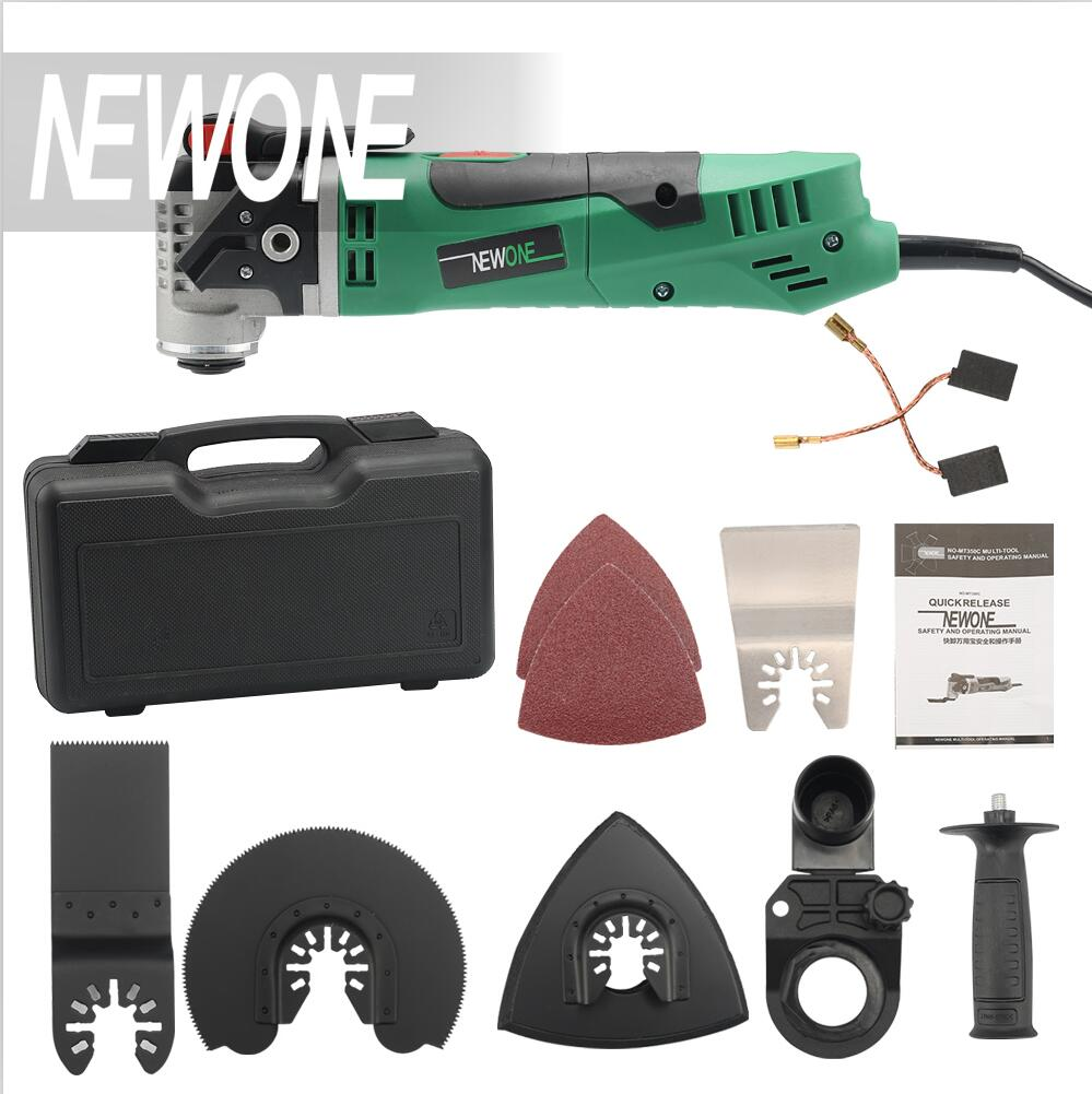 NEWONE Multi-Function Electric Saw Renovator Tool Oscillating Trimmer Home Renovation Trimmer woodworking tool with plastic bag odin&bosch tool bag multi function electric woodworking repair bag hardware electric belt
