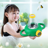 Excellent Two Way Bug Insect Observation Viewer Kids Toy Magnifier Magnifying Glass Children Educational Toy