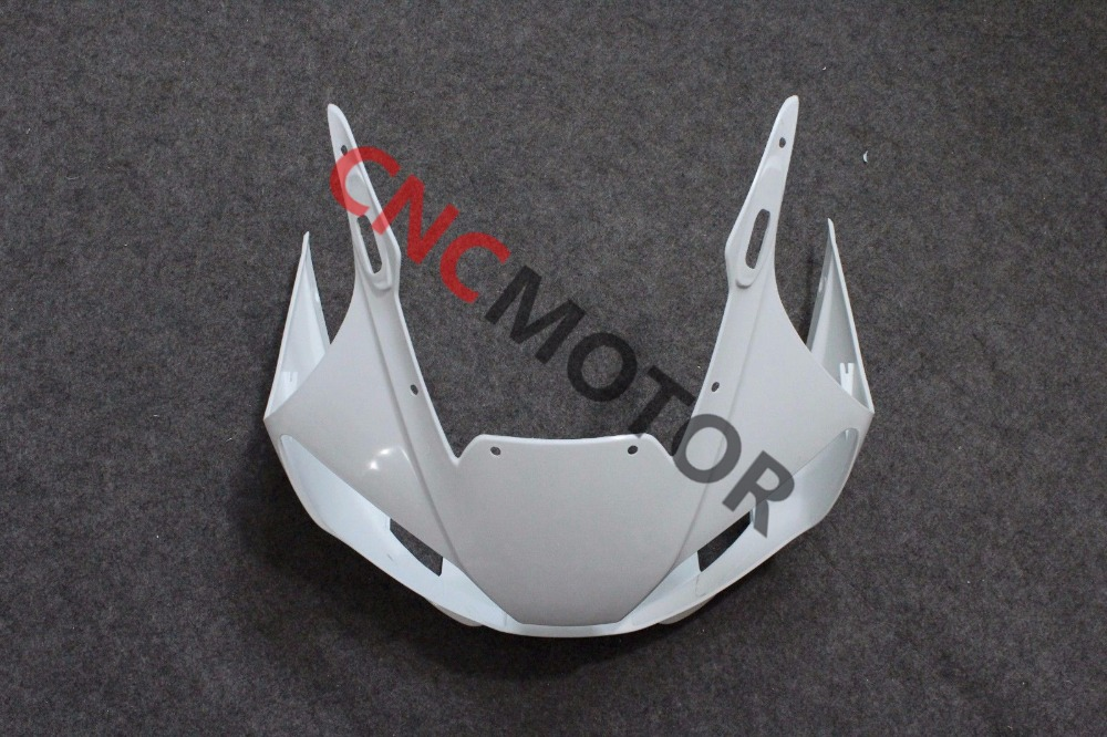 Unpainted ABS Plastic Front Upper cowl nose Fairing Bodywork for YAMAHA YZF R6 R600 1998-2002 98-99-00-01-02 unpainted abs plastic front upper cowl nose fairing bodywork for yamaha yzf r6 r600 1998 2002 1999 2000 2001
