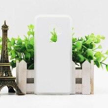 50 pcs  Wholesale For Samsung S9 S9 plus TPU rubber 2D sublimation case for Samsung S9 S9 plus  case with aluminium metal sheet