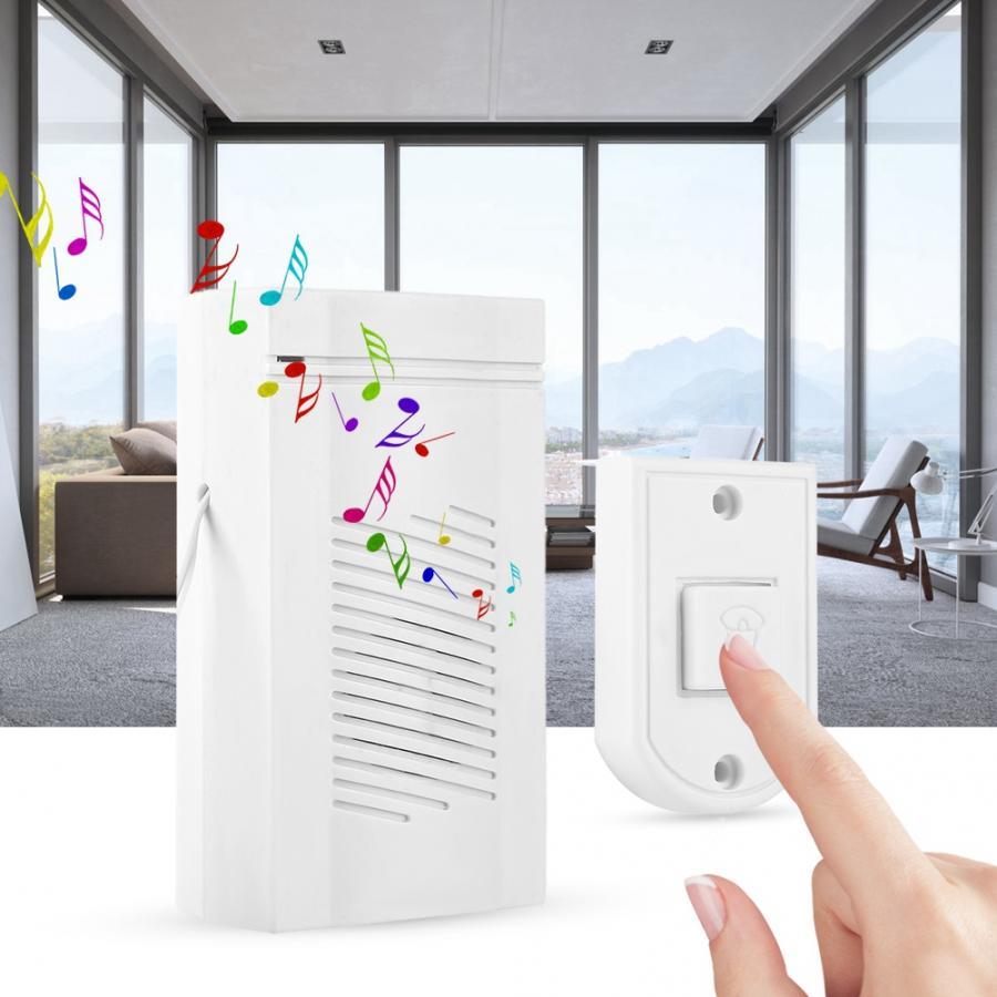 Plastic Door Bell Chime 12V Vocal Wired Doorbell Welcome Door Bell For Room