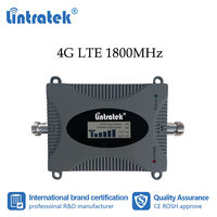 Lintratek 4G DCS 1800MHz Mobile Phone Signal Booster Cellular Internet Communication Amplifier Mini Size 1800 LCD Repeater #dd