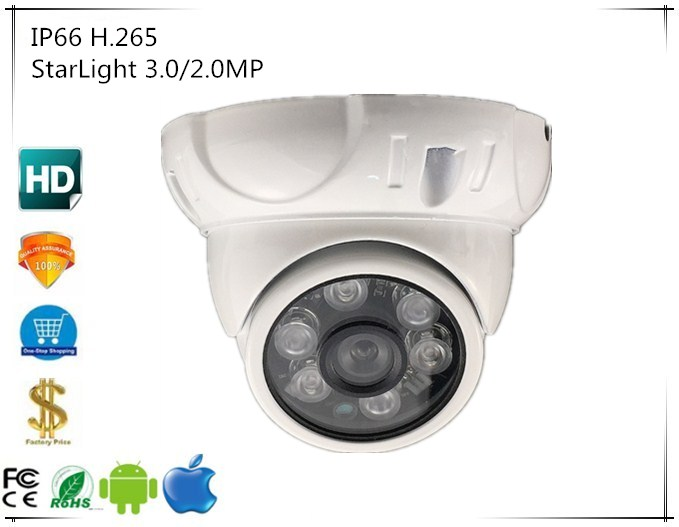 3516C + Sony IMX291 IP Metal techo de cúpula Cámara 3,0/2.0MP 1080P 2048*1536 H.265 Onvif IRC CMS vmeyesuper de P2P nube-in Cámaras de vigilancia from Seguridad y protección on AliExpress - 11.11_Double 11_Singles' Day 1