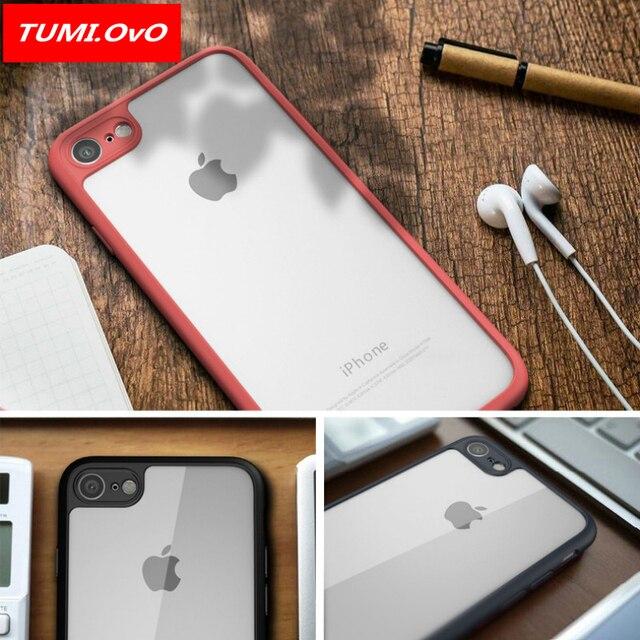 huge discount abde2 71f3d 162.19 руб. 20% СКИДКА|Tumi. ОВО Тонкий чехол для iphone 8 7 6 6 S плюс 5  5S 5SE X полный защитный ПК и ...