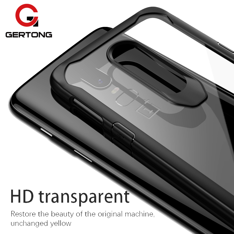 High Transparent Cover Case For Oneplus 6 5t 5 T One Plus 3 3T Oneplus6 Anti-knock Phone Cases Acrylic Silicone Smartphone Cases