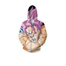 Dragon Ball 3D Zipper Hoodies