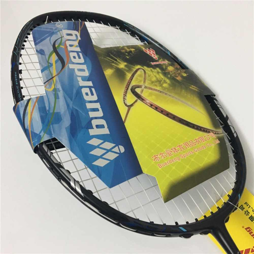 Badminton racket Voltaic badminton rackets made of full carbon fiber prestrung badminton with overgrip VT ZF II badminton vtzfii
