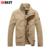 Lkbest 2017 nueva delgado hombres gabardina moda de invierno capa de los hombres de gran tamaño de estilo británico para hombre ropa de abrigo marca (EJERCICIO ECONÓMICO)