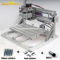 CNC3018 With ER11 DIY Mini CNC 3018 Engraving Machine Laser Engraving PCB PVC Milling Machine Wood