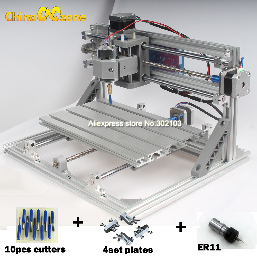 CNC3018 with ER11 DIY mini CNC 3018 Engraving Machine,Laser Engraving,PCB PVC Milling Machine,Wood Router Best Advanced Toys eur free tax cnc 6040z frame of engraving and milling machine for diy cnc router