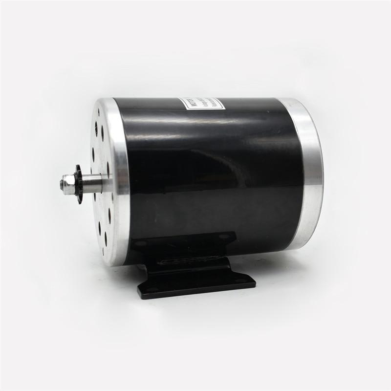 DIY modifikace vysokorychlostního elektrického lokomotivního elektromotoru MY1020 750W36 / 48 / 60V motor s permanentními magnety