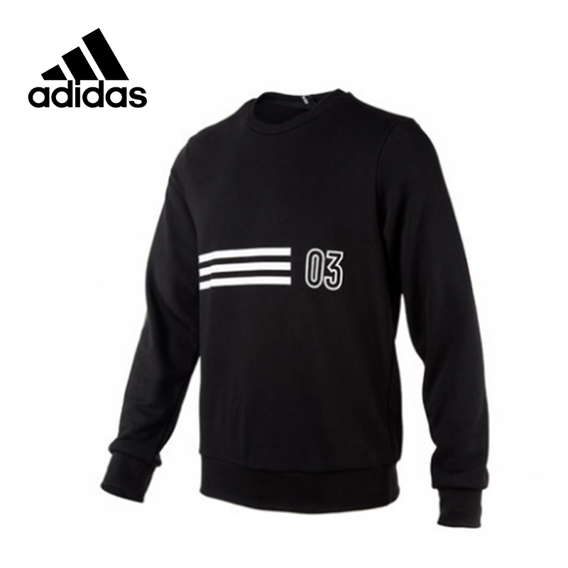 Original New Arrival Official Adidas GFX CR 03 LNG Men's Comfortable Pullover Jerseys Sportswear Good Quality CX4948 original new arrival official adidas trefoil crew men s breathable pullover comfortable sportswear good quality cv8643