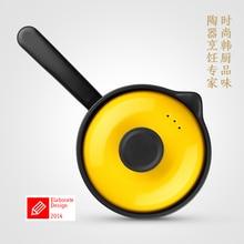Boiled milk noodles congee soup pot Korean BB ceramic high-temperature milk pot casserole pot