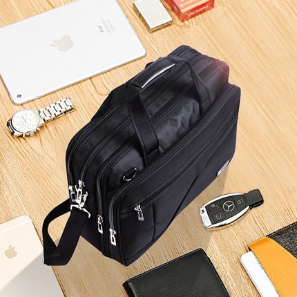 Laptop Bag Oxford Cloth Briefcase Male Commerc Section Men Hand Bag Canvas Men Bag Large Capacity Computer Bag Notebook GYM