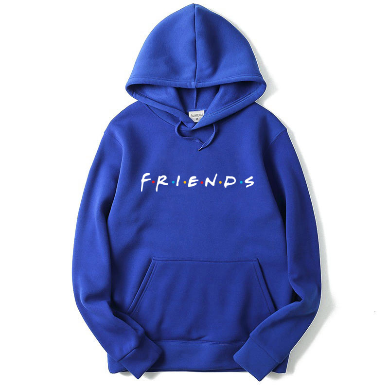 Back To Search Resultsmen's Clothing Friends Tv Show Logo Letter Alphabet Couple Clothes Boys Man Male Autumn Winter Fleece Hoodies