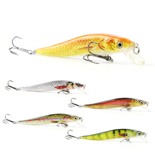 5 Color 9cm/6.5g New Minnow Fishing Lure Realistic Fishing Bait Unique Body Texture Crankbait Fish Wobbler Tackle Pesca HML09B