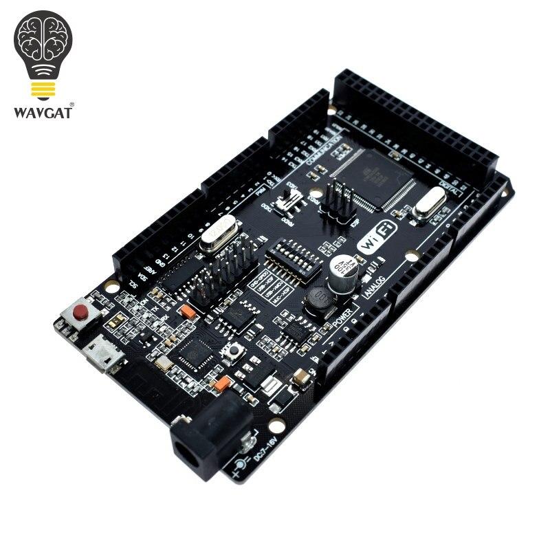 WAVGAT Memory Mega2560 CH340G. Wemos Arduino-Mega-Nodemcu Wifi ESP8266 for R3 Compatible