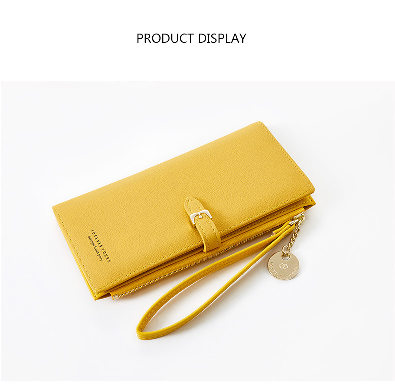 Women Long Wallet Many Departments Female Wallets Clutch Lady Purse Zipper Phone Pocket Card Holder Ladies Carteras 42