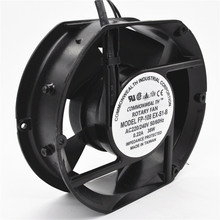 цены Axial Fan FP-108EX-S1-B 220V 38W Dual Bearing Cooling Fan Oval 172x150x51mm