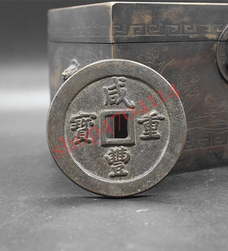 Folk collection Qing dynasty  The treasure of Guangxu  Silver ingot