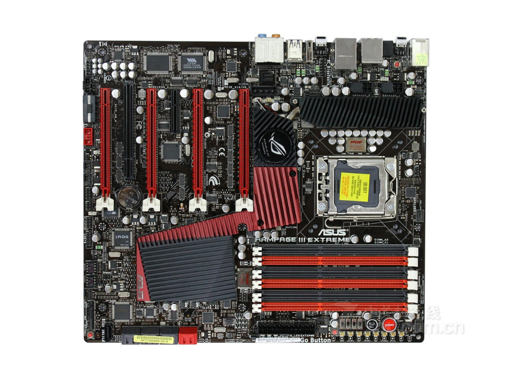 ASUS Rampage III carte mère originale extrême DDR3 LGA 1366 24 GB X58 carte mère de bureau livraison gratuite