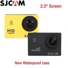 100% Оригинальные SJCAM 2 »Экран Sj4000 2» Экран SJ4000 WI-FI 1080 P 30 м Водонепроницаемый дайвинг спорт действий Камера автомобиль mini dvr