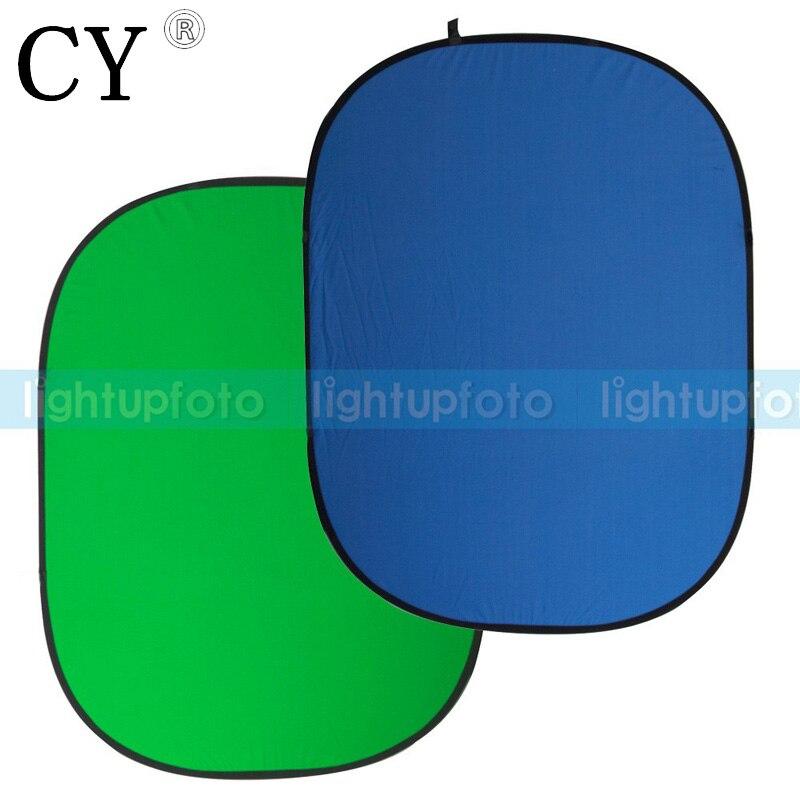 Photographique Pliable Milieux Décors Bleu/Vert 4.6