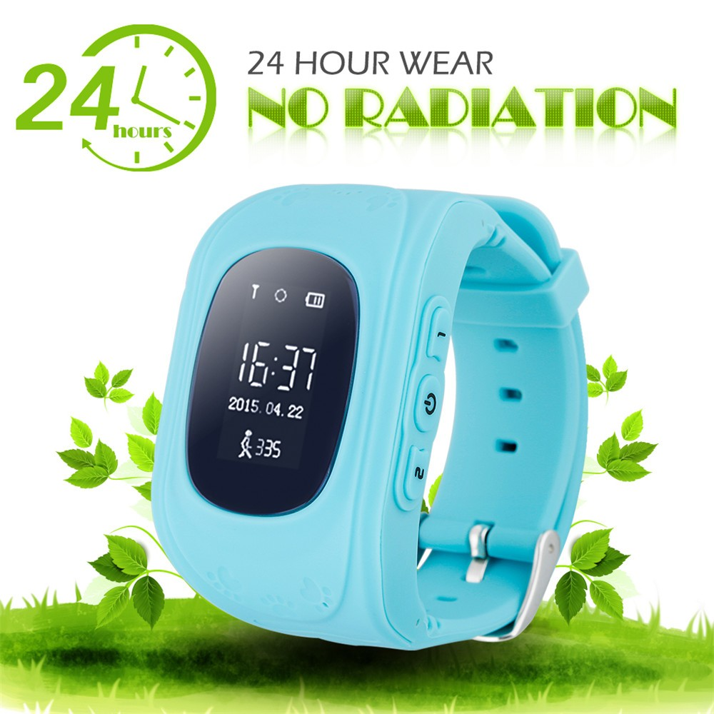 2016 Smart Kid Safe GPS Watch Wristwatch SOS Call Location Finder Locator Tracker for Kid Child Anti Lost Monitor Baby Gift Q5029