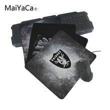 MaiYaCa personalizado de alta velocidad nuevo Oakland Raider personalizado Vintage con estilo Mouse Pad de juego rectángulo Mousepad