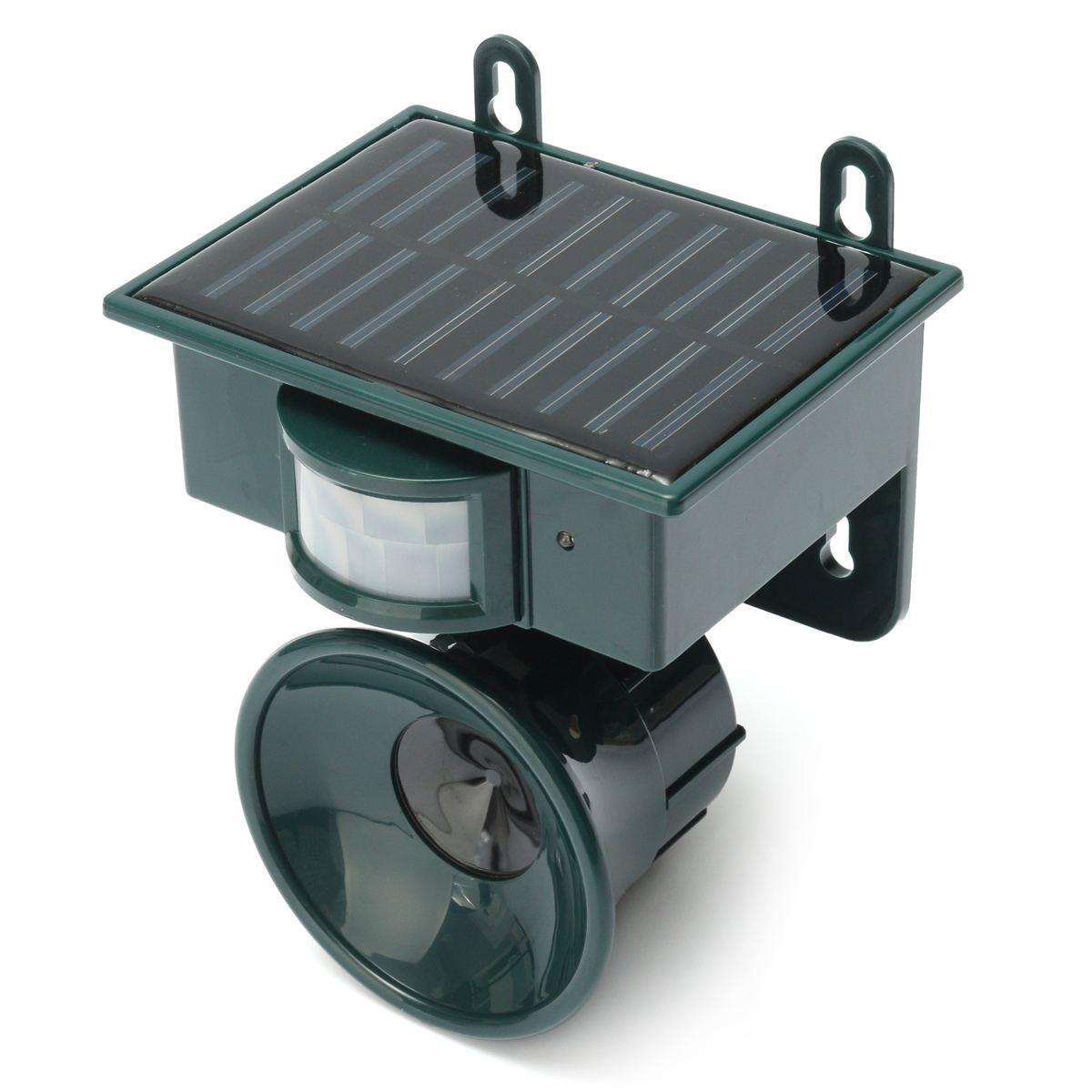 Image 3 - Solar Powered Ultrasonic Bird Repeller PIR Motion Sensor Animal Repellent Bird Pest for Home and Garden Protection-in Repellents from Home & Garden