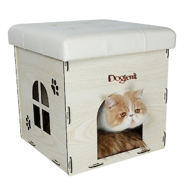 1 PC 2016 New Creative Multifunctional Stool Home Chairs Also Pet Dog Cat  Rabbit Bed Kennel
