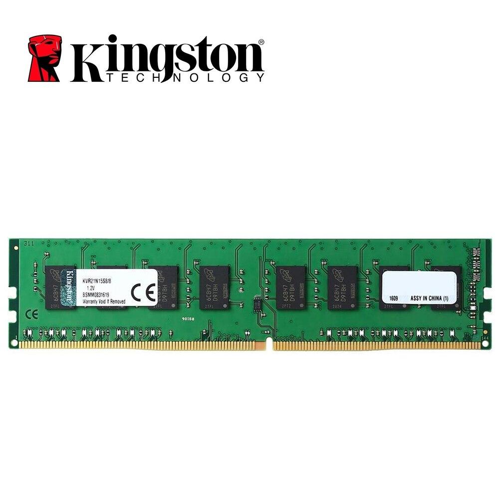 Kingston 8GB DDR4 2400Mhz CL15 284pin 1.2V PC4-19200U 8GB Desktop Memory SODIMM RAM kingston 8gb 2400mhz ddr4 cl15 low voltage 1 2v dimm hyperx fury black desktop computer memory ram