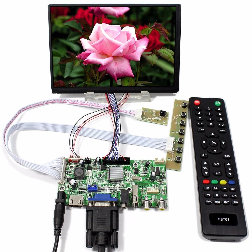 HDMI+VGA+2AV+USB+Audio LCD Controller Board With 7inch 1280x800 N070ICG-LD1 IPS LCD Screen tv hdmi vga av usb audio lcd control board with 7inch 1280x800 n070icg ld1 touch lcd