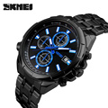 SKMEI Quartz men Watches Top Brand Luxury Men Military Wrist Watches Full Steel Men Sports Watch Waterproof Relogio Masculino