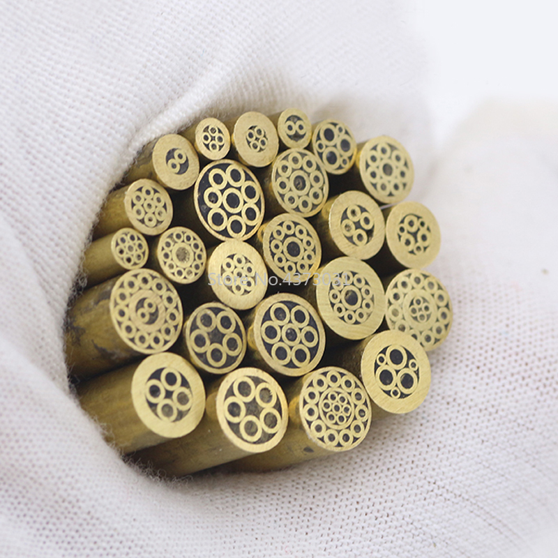 brass tube mosaic screw nail For DIY Knife handle decoration length 48mm mosaic rivets for knife handle material Diameter 6mmbrass tube mosaic screw nail For DIY Knife handle decoration length 48mm mosaic rivets for knife handle material Diameter 6mm