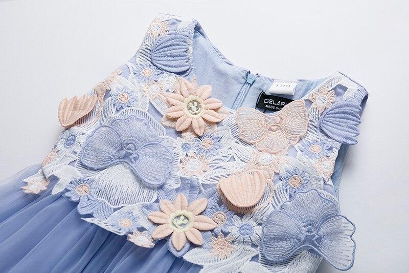 43bd5a61e Cielarko niños niñas vestido de flores bebé niña mariposa cumpleaños  vestidos de fiesta niños ...