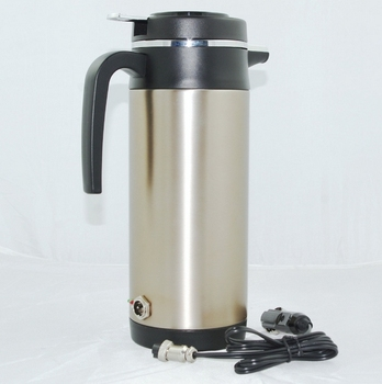 large volume Cigarette lighter  24V  1.2L Car stainless steel heating hot water cup Car Electric Cup car heater kettle 1200ml dmwd 750ml car heating cup auto 12v 24v stainless steel electric kettle travel heated coffee hot water boiling thermal heater