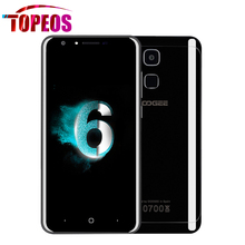 Original Doogee Y6 Piano Black 4G Mobile Phone 5.5 Inch HD MTK6750 Octa Core 4GB RAM 64GB ROM 13MP Fingerprint ID Smartphone