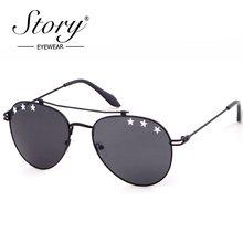 STORY 2018 Brand Aviation Sunglasses Fashion Star Sun Glasse