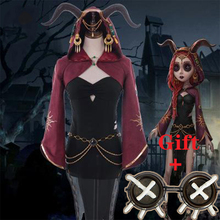 Oyun kimlik V Cosplay kostüm kurban Fiona Gilman Cosplay kostüm cadılar bayramı noel partisi cadı kadınlar özelleştirilmiş