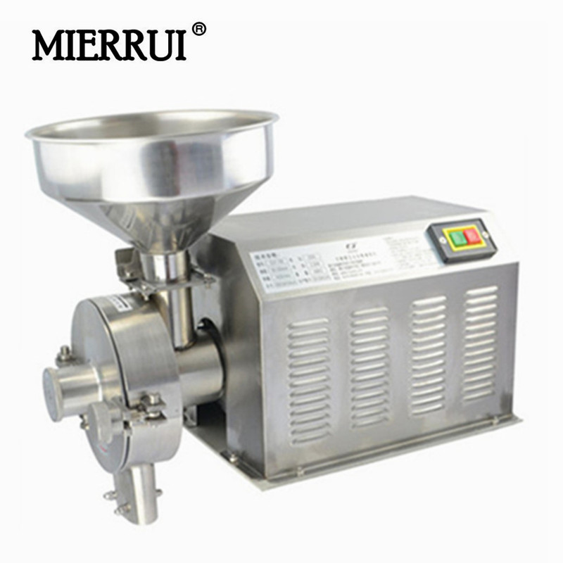 2018 Hot Sale Food Mills household/commerical stainless steel high power grain/pepper/soybean powder electric mill for spices