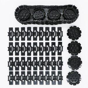 Technic Moc Rups Track Bouwstenen Digger Graafmachine Tank Wiel Accessoire Baksteen Onderwijs Speelgoed Compatibel Technic Deel