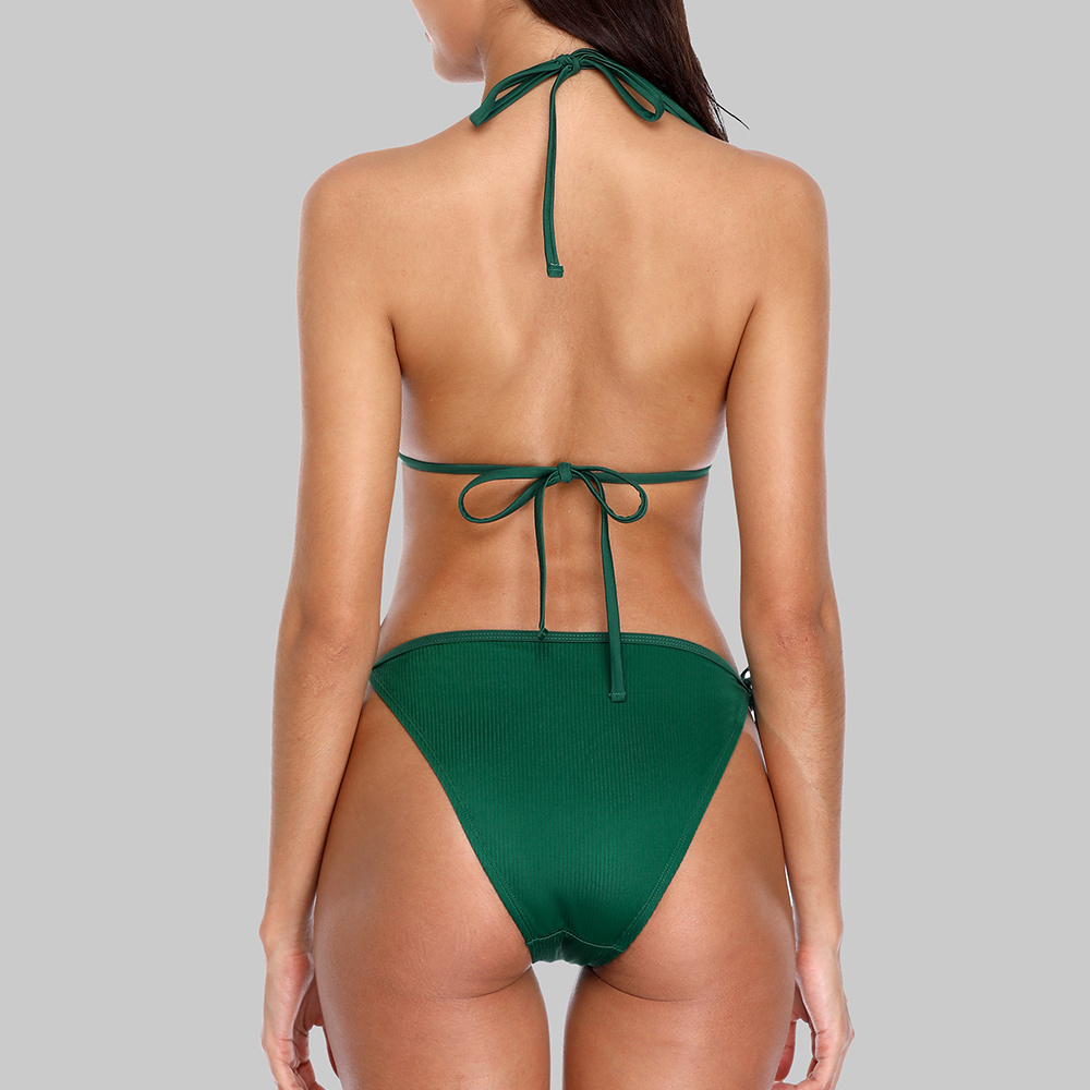 Charmleaks New Floral Print High Waist Swimwear Bikini Әйелдер - Спорттық киім мен керек-жарақтар - фото 5