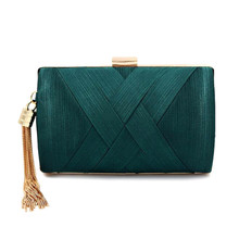 New Metal Tassel Women Clutch Bag Chain Evening Bags Shoulder Handbags Classical Style Small Purse Day Evening Clutch Bags A3 retro purple fashion ladies purse small day clutch chain bag shoulder bag dinner handbags female wedding clutch evening bags