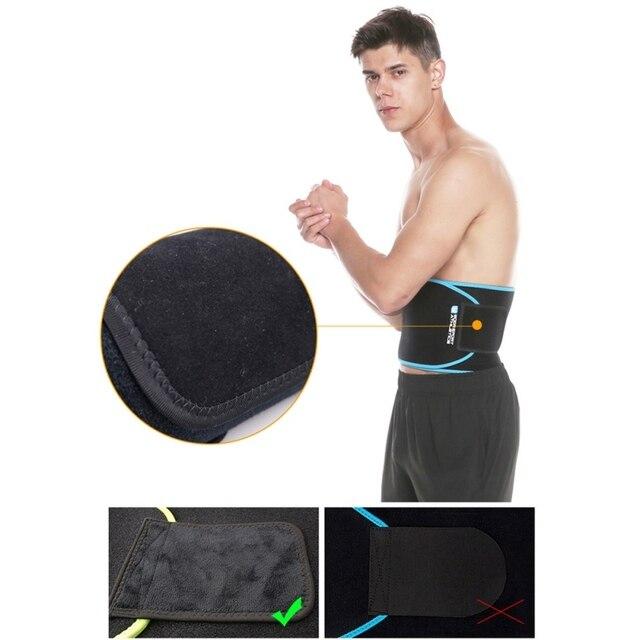 Adjustable Waist Back Support Waist Trainer Trimmer Belt Sweat Belt for Gym Fitness Weightlifting Tummy Slim Belts 2