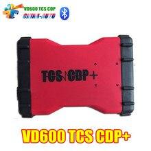 10 шт./лот vd600 TCS CDP Pro лучшей для легковых и грузовых автомобилей 3in 1 с Bluetooth версии VD 600
