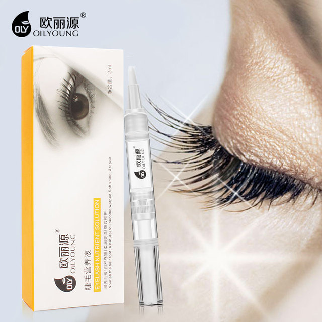 Enhanced Eyelash Growth Liquid Eyebrows Medium Eyelash Serum 2 ML Increase Thicker Longer Slender Eye lash Extension Eye Care